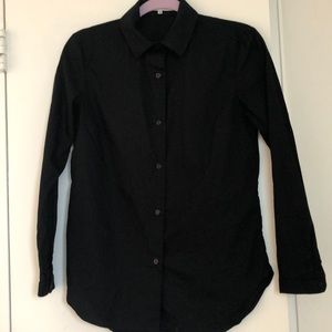 Carven 100% cotton button down top in size 38